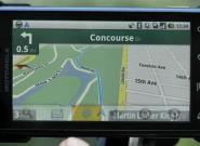 Google Navigationssoftware für Android 2.0