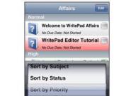 WritePad – das kostenlose Schreibprogramm