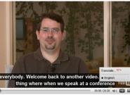 YouTube.com generiert automatisch Video-Untertitel mit