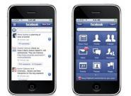Facebook.com für das Apple Iphone