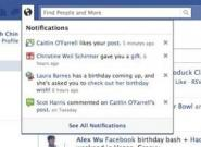 Neues 2010 Facebook Design lässt