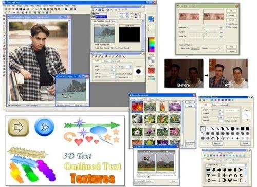 Photo Pos Pro Photo Editor