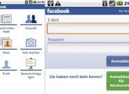 Facebook App für Android Handys