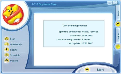 1-2-3 Spyware Free