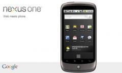 Google Handy Nexus One günstig