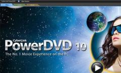 PowerDVD 10 Ultra: DVD Videos