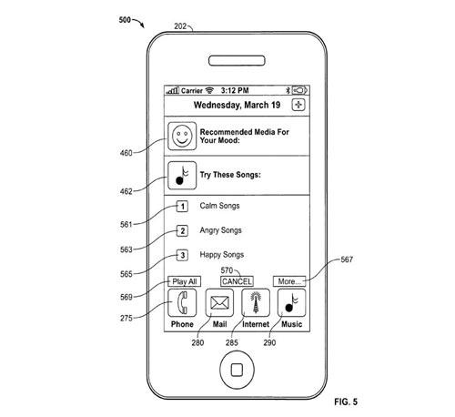 Apple Patent Iphone