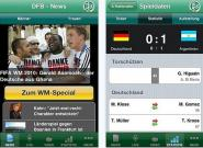 DFB App fürs iPhone: News