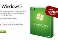 Windows 7 für Studenten nur