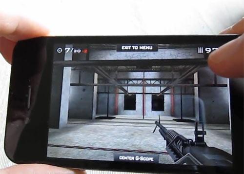 Erstes 3d shooter spiel das iphone 4 gyroskop nutzt demo im youtube