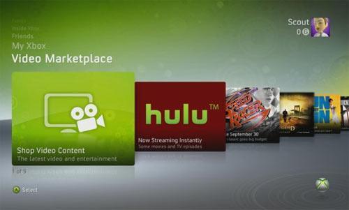 Hulu Xbox Live