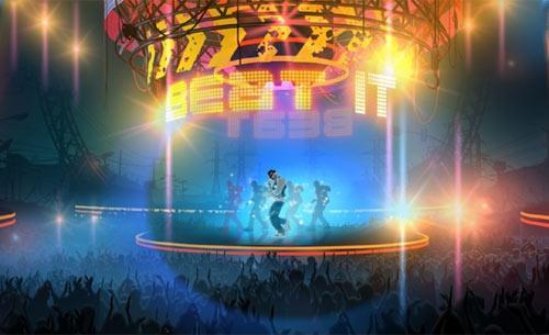 Michaeal Jackson Tanz spiel