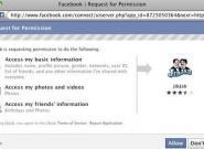Facebook Anwendungen dürfen nur auf