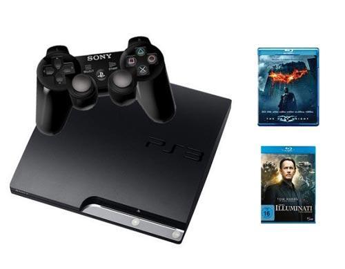Sony Playstation 3 Slim mit 250GB Festplatte