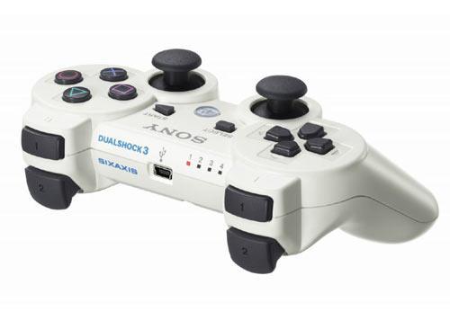 Playstation 3 Slim Controller weiß