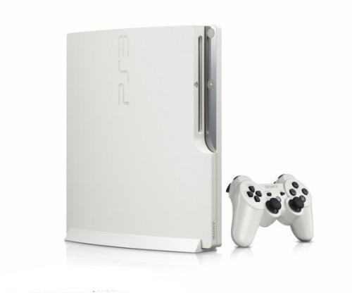 PS3 Slim nun in Farbe weiß