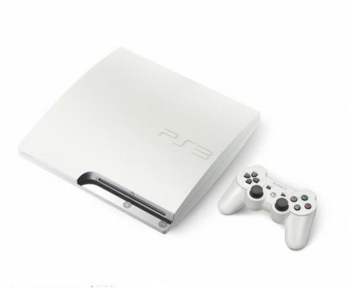 PS3 Slim weiß