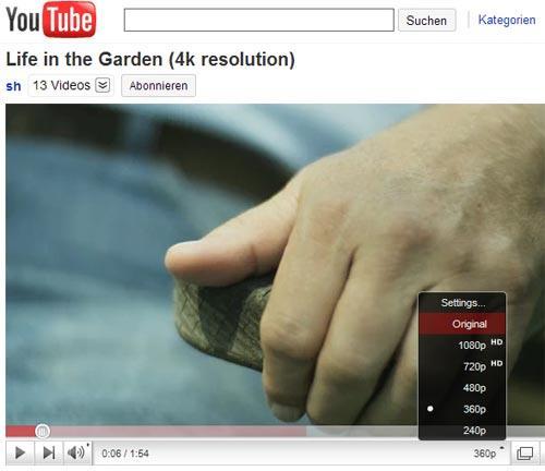 YouTube im Kino