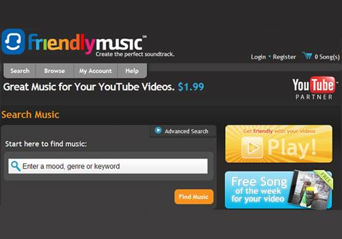 YouTube Videos Songs Hintergrundmusik