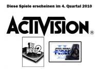 Release-Plan: Neue Activision Spiele im