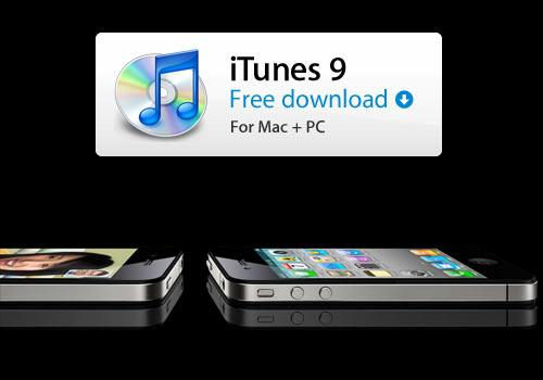 Apple i phone 4 itunes