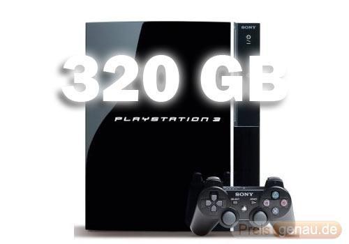 neue PS3-Modelle 320GB