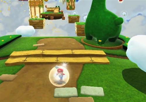Super Mario Galaxy 2 glühen