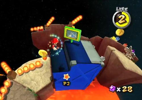 Super Mario Galaxy 2 level 2