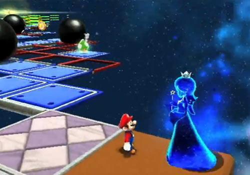 Super Mario Galaxy 2 Prinzessin