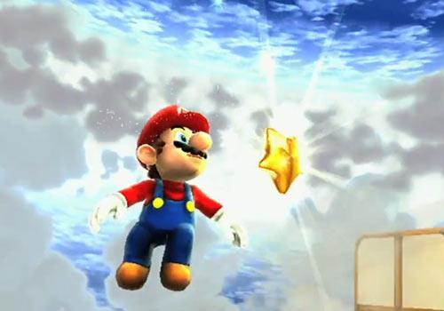 Super Mario Galaxy 2 stern