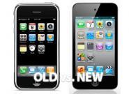 Alte und neue iPods im