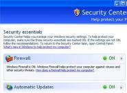 Firewall unter Windows 7, Vista