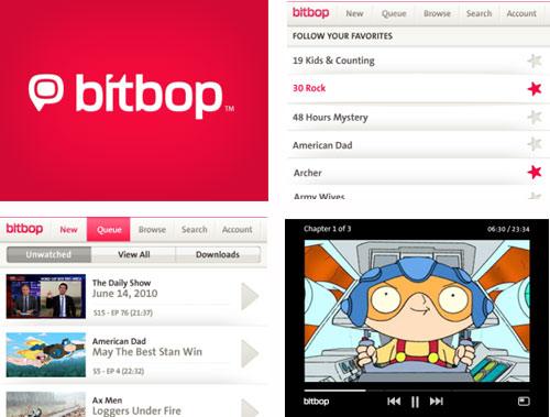 BlackBerry apps Bitbop