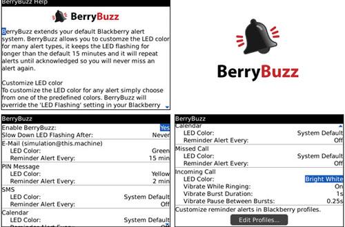 BlackBerry apps BerryBuzz