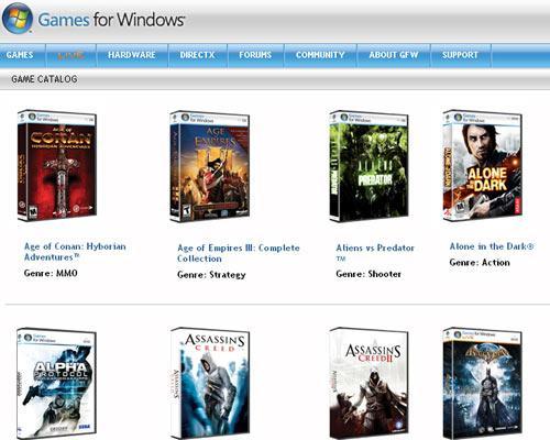 Games for Windos Games Screenshot