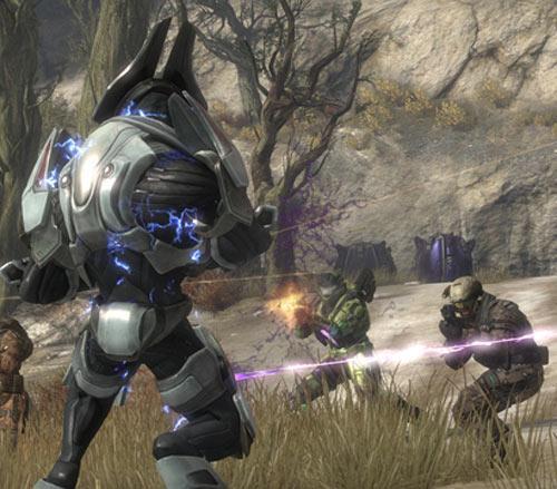 Halo: Reach Srceenshot Surrounded