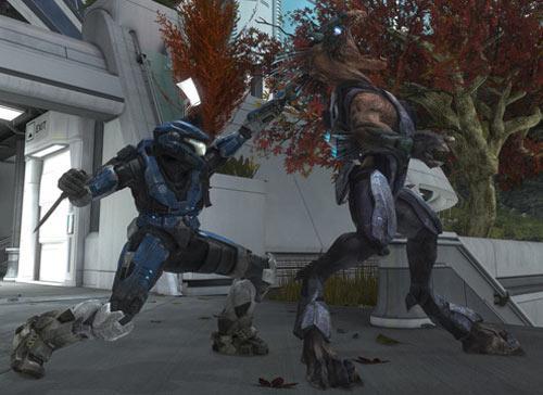 Halo: Reach Srceenshot Firefight Beachhaed