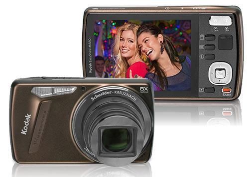 Digikam Kodak EasyShare M580 Braun Vor-Rückseite