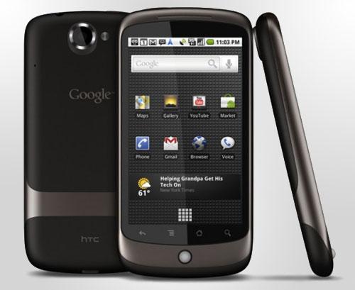 Nexus One alle Seiten