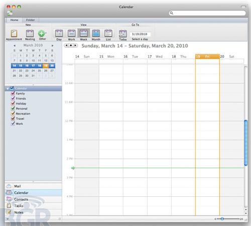 Microsoft Outlook 2011 Kalender