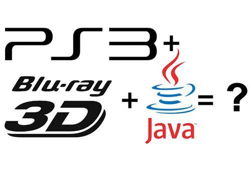 Playstation 3 blu-ray 3D java