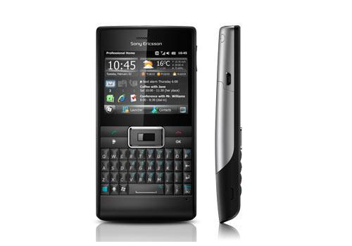 Handy Sony Ericsson Aspen Vor-Seitenansicht