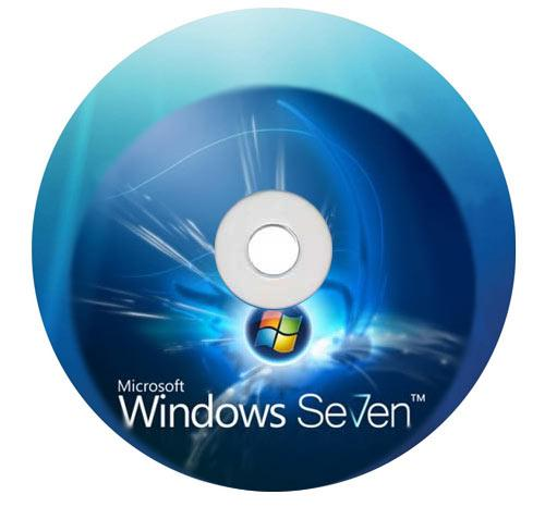 Micosoft Windos 7 CD