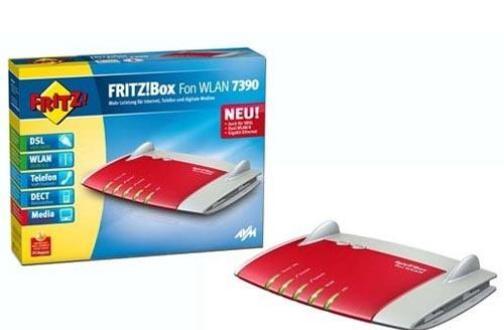 FRITZ!Box Fon WLAN 7390 erhält