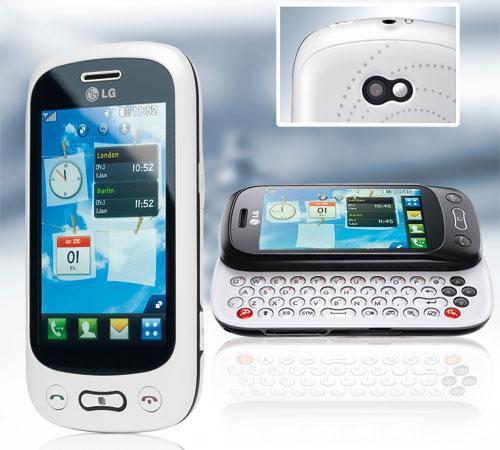 Lg gt350 günstiges touch handy mit qwertz tastatur bei aldi