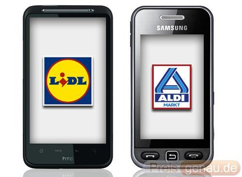 Billig prepaid tarife von aldi talk und lidl mobile im vergleich