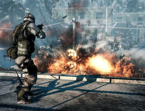 Battlefield: Bad Company 2 Screenshot Explosion
