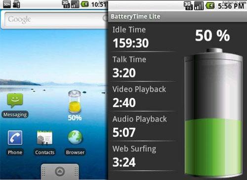 Battery Time Lite