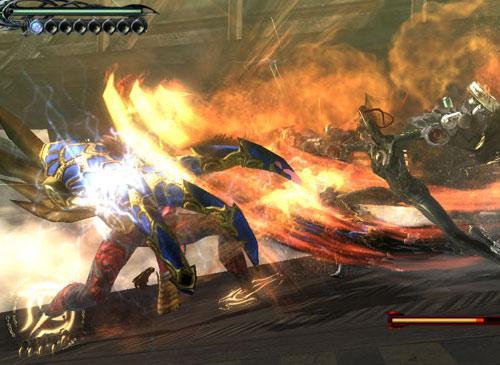 Bayonetta Screenshot Byonetta kill enemy