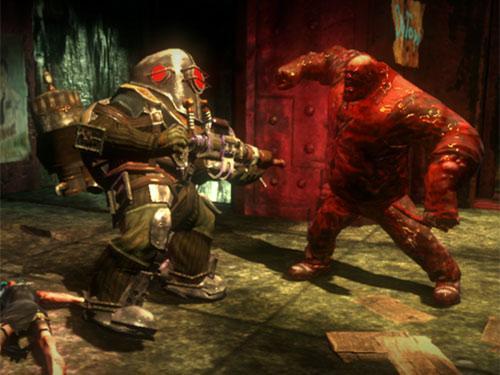 Bioshock 2 Screenshot Bigdady im Kampf